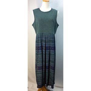 Knit Top Maxi Dress